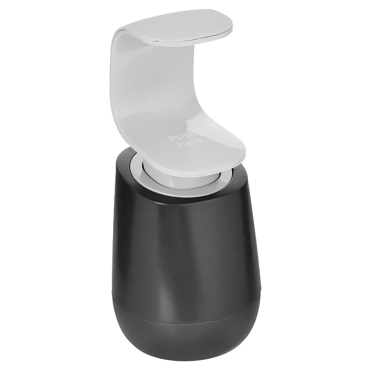 Дозатор для мыла Joseph Joseph C-Pump, цвет: серый, 300 мл