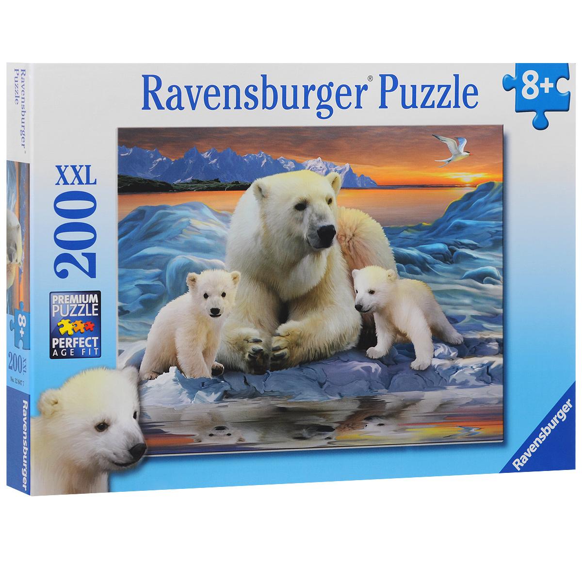 Ravensburger Полярные медведи. Пазл, 200 элементов