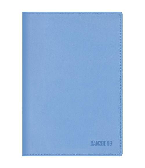 Ежедневник А6 Недатированный Голубой 152л. (KANZBERG Premium collection) Искуственная кожа, мягкая обложкаЕКК61515205Ежедневники KANZBERG Premium collection - это великолепное сочетание высокогокачества и стильного дизайна. Ежедневник KANZBERG Premium collection комфортен в использовании. Удобные размеры позволят всегда носить его с собой и помогут правильно организовать свой день. Стильный дизайн ежедневника с термотиснением и цветным торцом идеально подчеркнет индивидуальность своего обладателя идополнит его деловой стиль. Закладки (ляссе) помогут быстро найти нужные страницы, а недатированный блок позволит начать вести ежедневник с любого дня. Ежедневник KANZBERG Premium collection - это неотъемлемый атрибут современного делового человека, который ценит свое время, комфорт, качество и стиль. Разметка: . Бумага: офсет. Формат: А6. Пол: Унисекс. Особенности: скругленные уголки, цветной торец блока, ляссе, термотиснение.