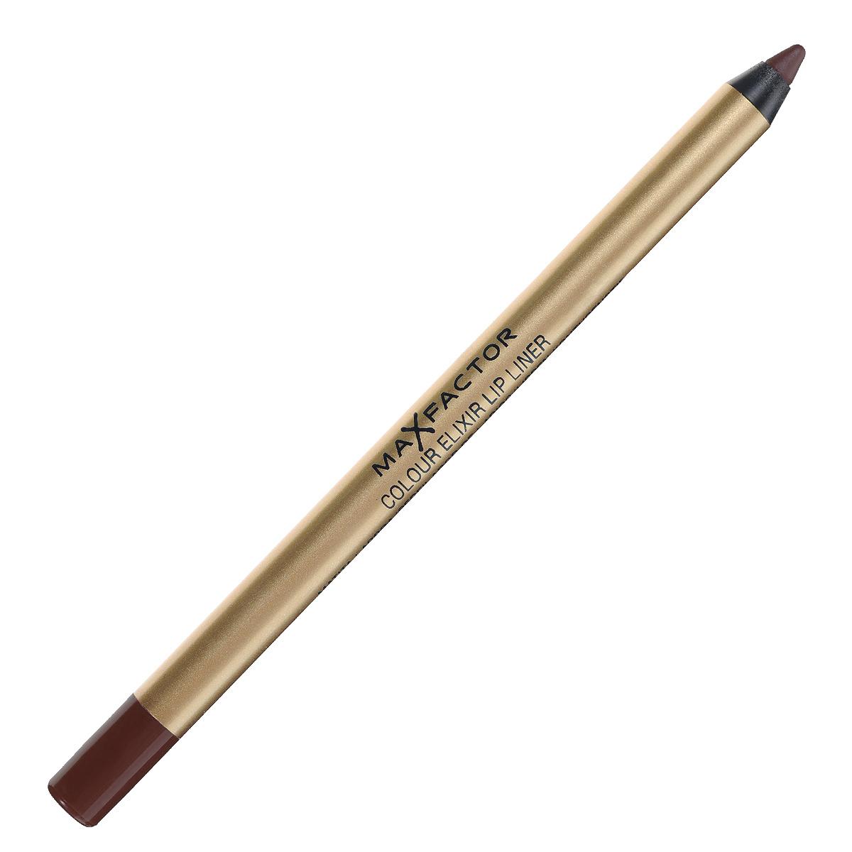 Max Factor Карандаш для губ Colour Elixir Lip Liner, тон №16 brown n bold, цвет: коричневый81440174Карандаш для губ Colour Elixir подчеркивает твои губы, придавая им форму.Роскошный цвет и увлажнение для мягких и гладких губ. Оттенки подходят к палитре помады Colour Elixir. Легко наносится.Товар сертифицирован.