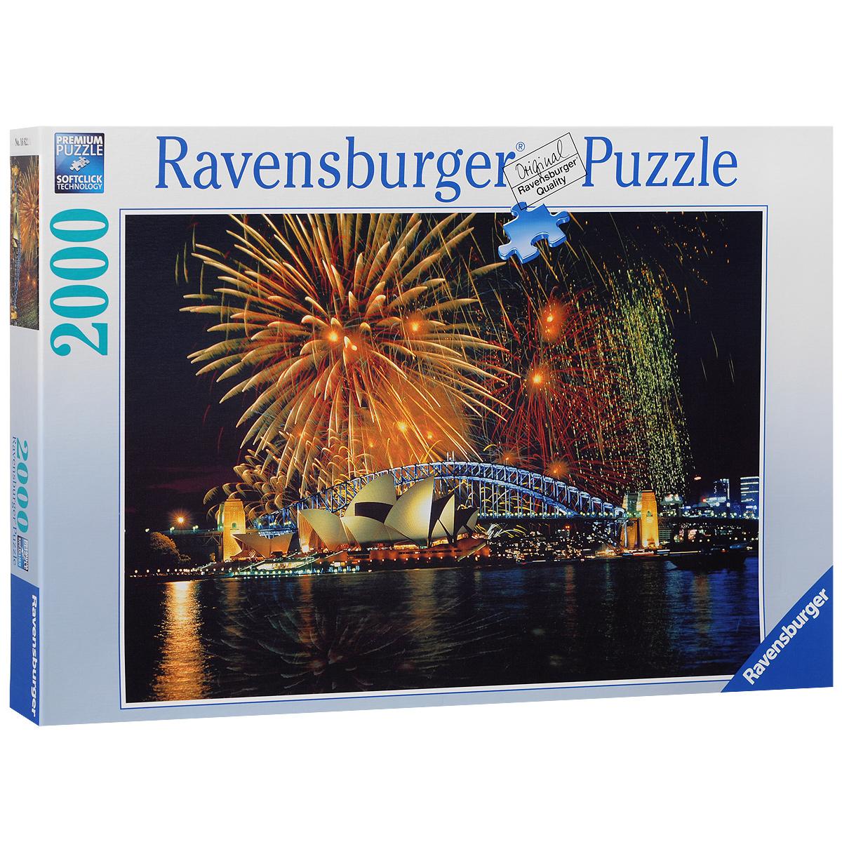 Ravensburger Фейерверк над Сиднеем. Пазл, 2000 элементов