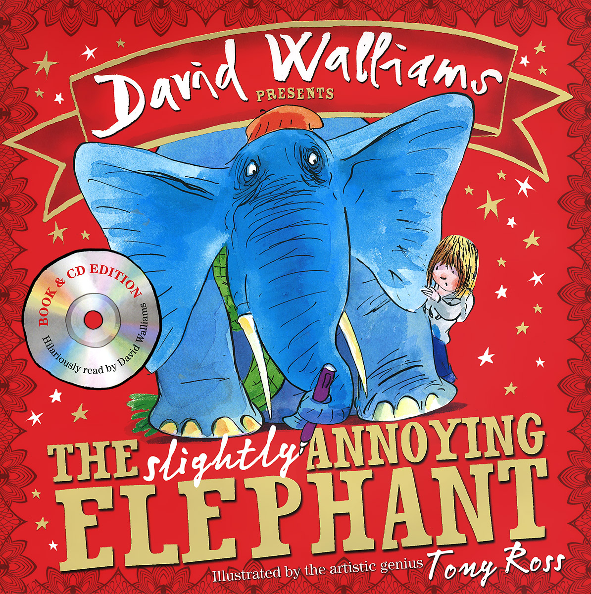 The Slightly Annoying Elephant (+ CD-ROM) the slightly annoying elephant cd rom