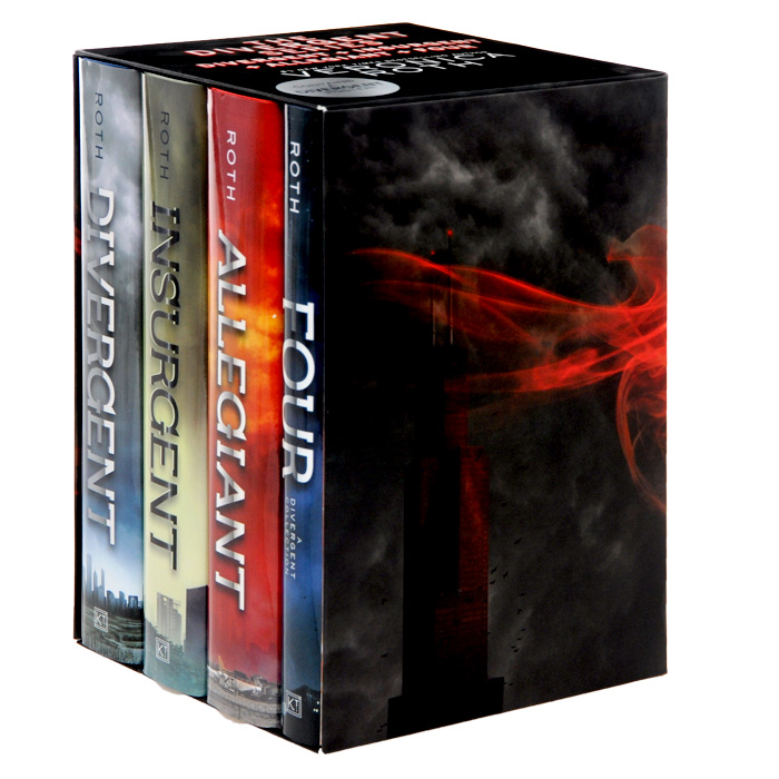 Divergent Box Set (комплект из 4 книг + постер) детские книги сказок и стихов комплект из 33 книг page 4