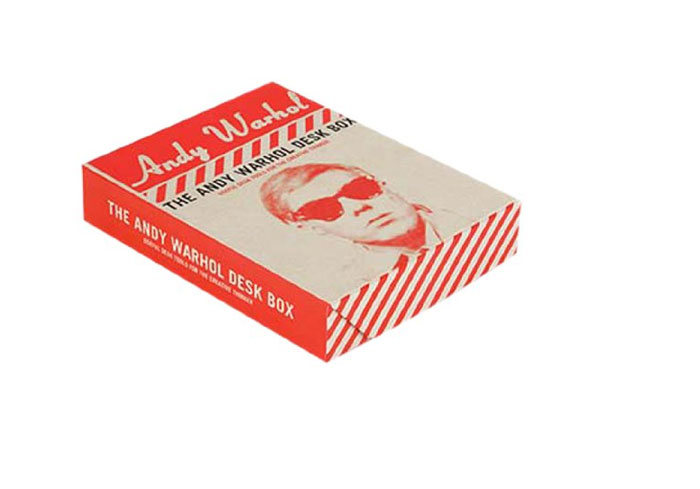 Andy Warhol Desk Box andy warhol a a novel