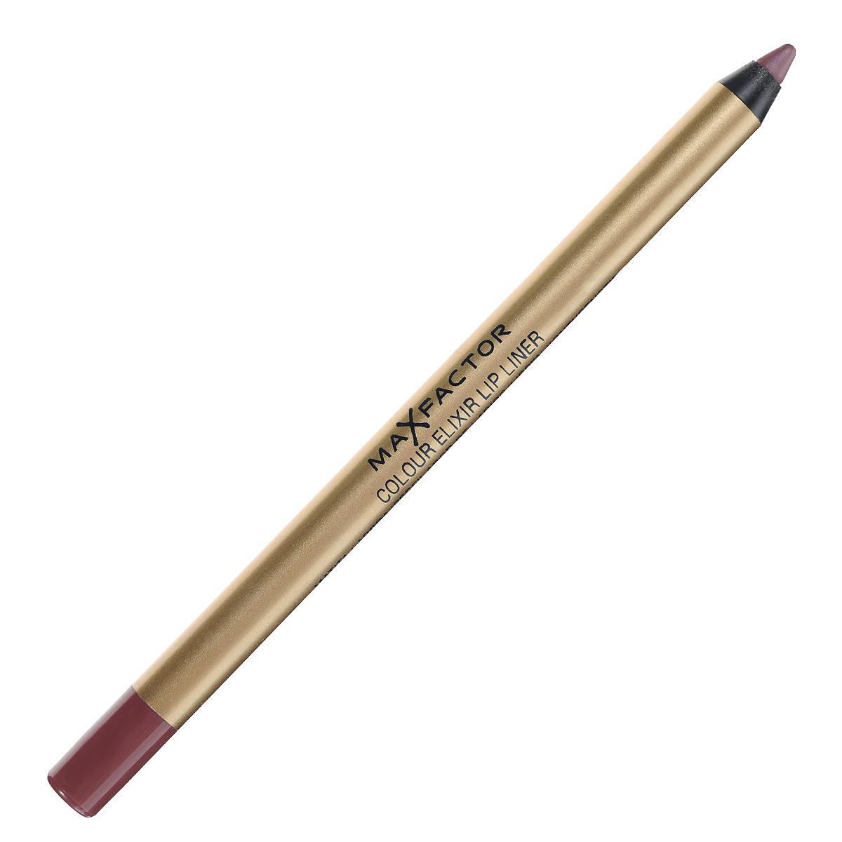 Max Factor Карандаш для губ Colour Elixir Lip Liner, тон №12 red blush, цвет: бордовый81440166Секрет эффектного макияжа губ - правильный карандаш. Он мягко касается губ и рисует точную линию, подчеркивая контур и одновременно ухаживая за губами. Карандаш для губ Colour Elixir подчеркивает твои губы, придавая им форму. - Роскошный цвет и увлажнение для мягких и гладких губ. - Оттенки подходят к палитре помады Colour Elixir. - Легко наносится.1. Выбирай карандаш на один тон темнее твоей помады 2. Наточи карандаш и смягчи кончик салфеткой 3. Подведи губы в уголках, дугу Купидона и середину нижней губы, затем соедини линии 4. Нанеси несколько легких штрихов на губы, чтобы помада держалась дольше.