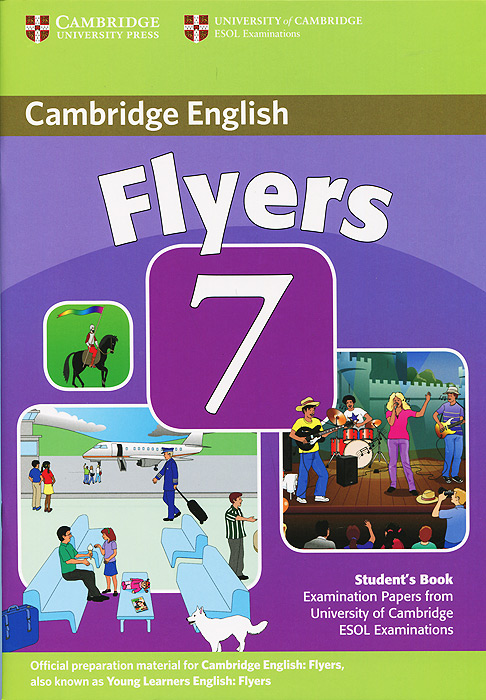 Cambridge Flyers 7: Student's Book storyfun for flyers teacher s book with audio cds 2