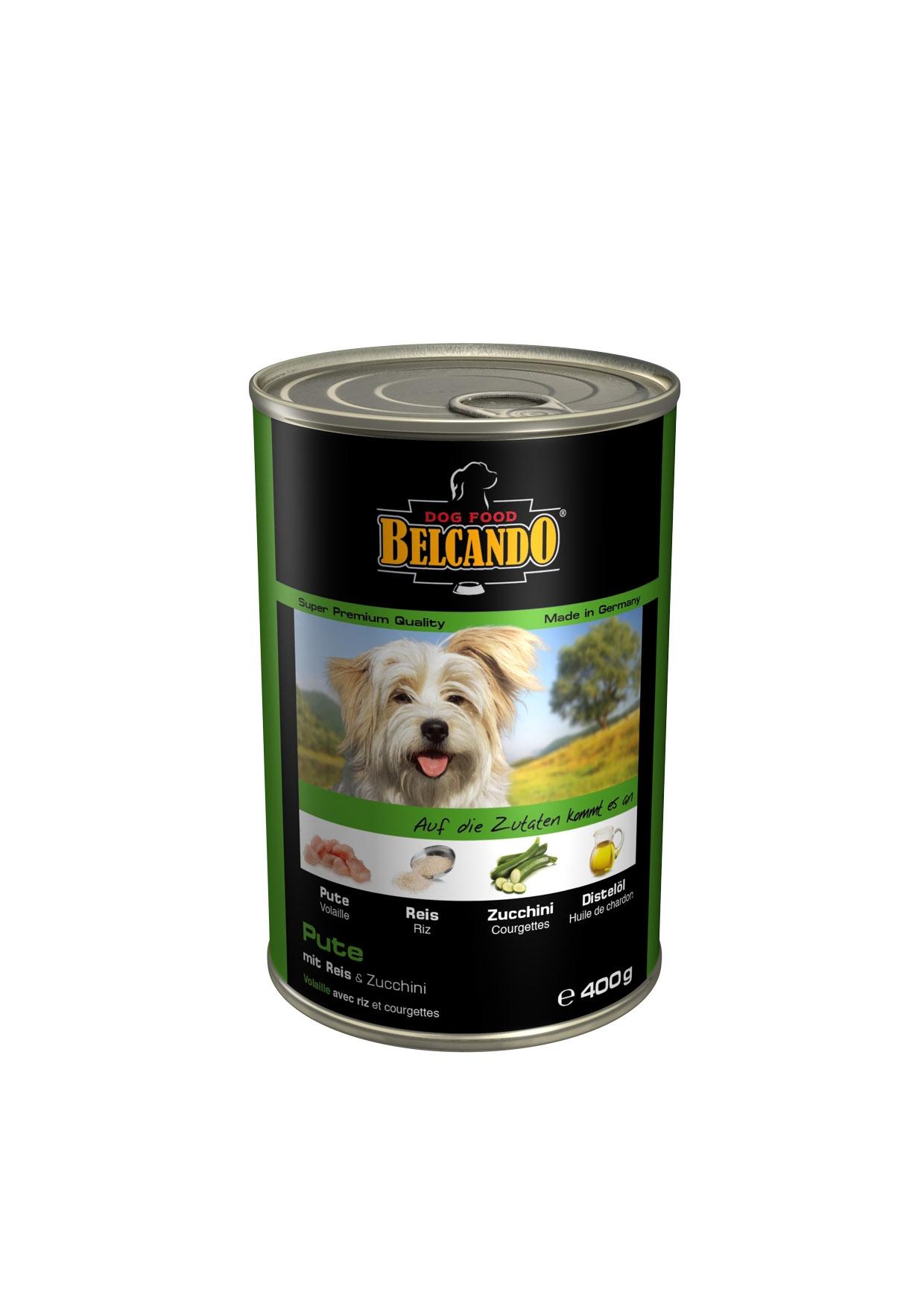 Консервы для собак Belcando, с мясом и овощами, 400 г13150Консервы Belcando - это полнорационное влажное питание для собак. Подходят для собак всех возрастов. Комбинируется с любым типом корма, в том числе с натуральной пищей. Состав: мясо 93,8%, овощи 5%, витамины и минералы 1,2%. Анализ состава: протеин 14 %, жир 5 %, клетчатка 0,3 %, зола 2,5 %, влажность 79 %, витамин А 2,500 МЕ/кг, витамин Е 40 мг/кг, витамин D3 250 МЕ/кг, кальций 0,4 %, фосфор 0,16 %.Вес: 400 г.Товар сертифицирован.