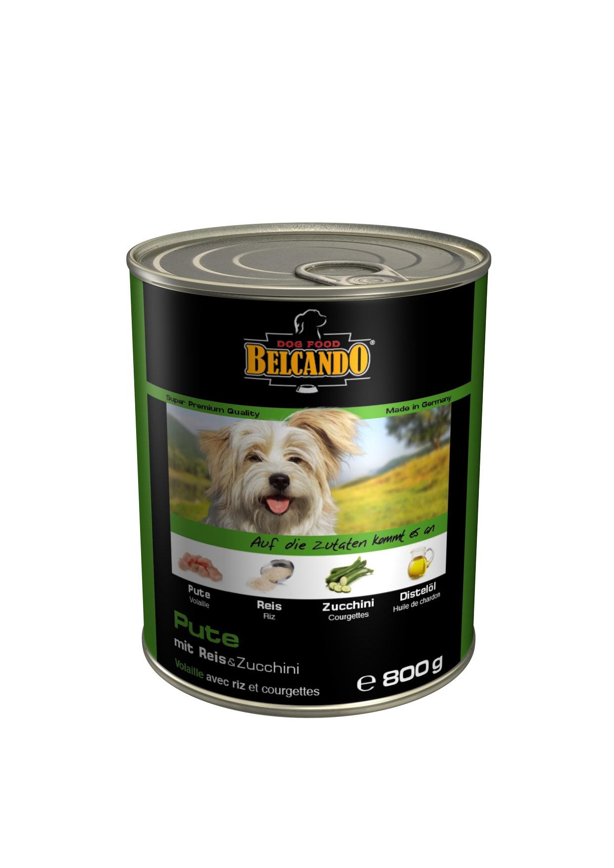 Консервы для собак Belcando, с мясом и овощами, 800 г консервы для собак мнямс касуэла по мадридски с кроликом и овощами 200 г