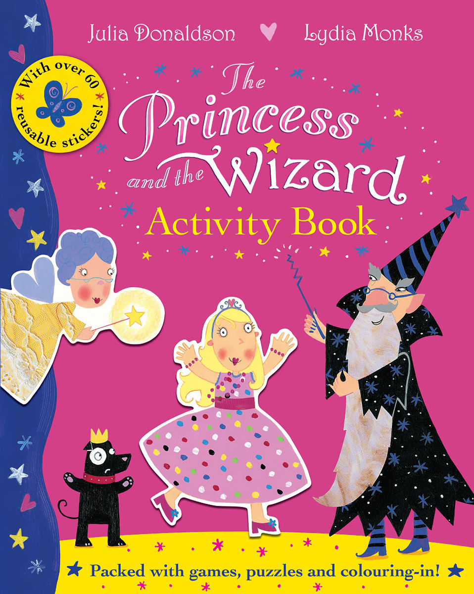 The Princess and the Wizard Activity Book (+ 60 наклеек)