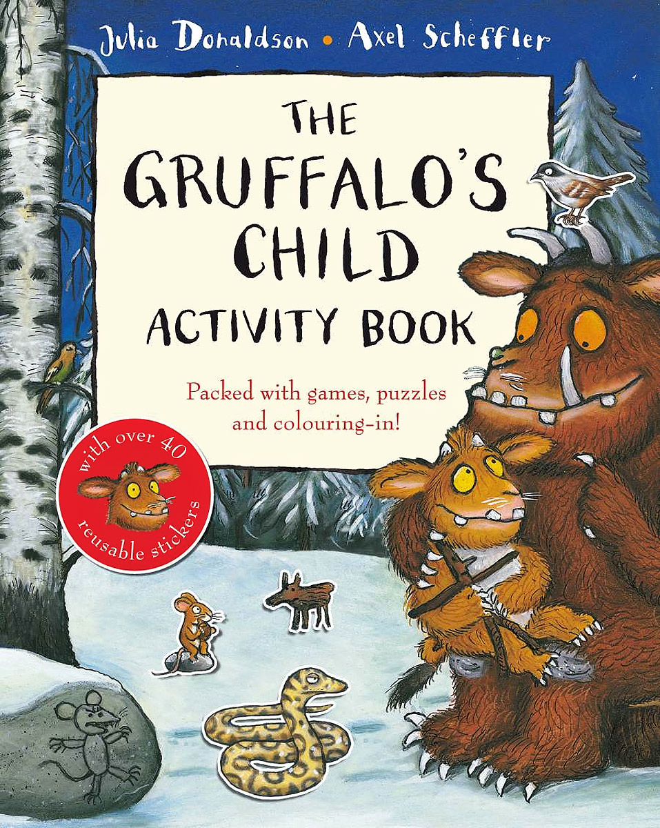 The Gruffalo's Child Activity Book (+ 40 наклеек) space activity book