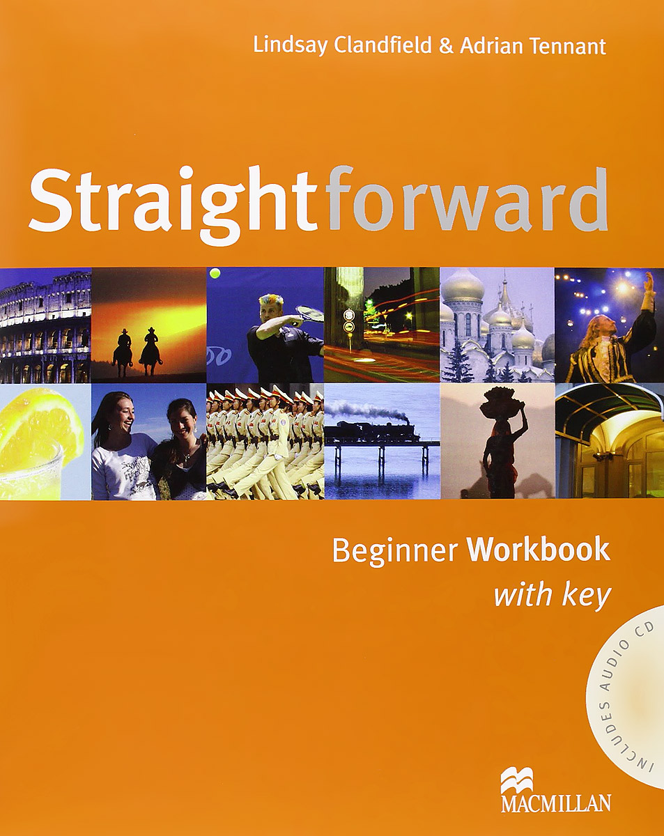 Straightforward: Beginner: Workbook with Key (+ CD)