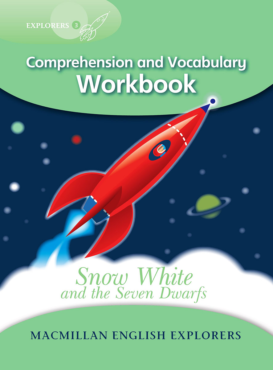 Snow White and the Seven Dwarfs: Comprehension and Vocabulary Workbook: Level 3 elmer in the snow