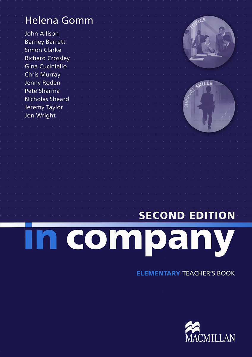 In Company Elementary: Teacher's Book real life elementary active teach