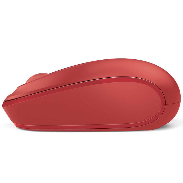 Microsoft Wireless Mobile Mouse 1850, Redмышь (U7Z-00034) Microsoft