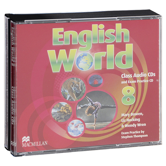 English World 8: Class Audio CDs and Exam Practice CD (аудиокурс на 3 CD) тур world class алматы