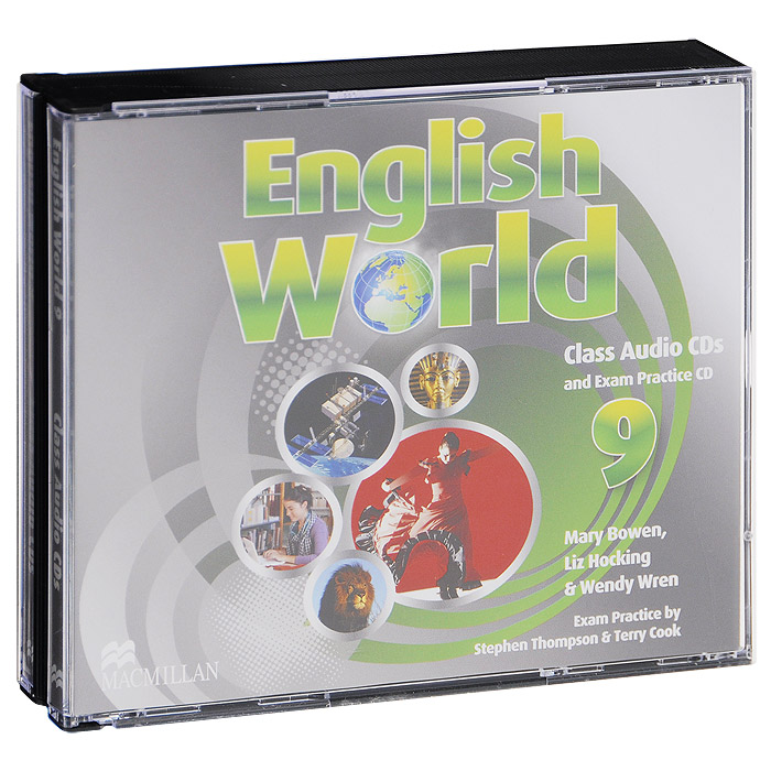 English World 9: Class CDs and Exam Practise CD (аудиокурс на 3 CD) english world 7 level a2 b1 class audio cds and exam practice cd аудиокурс на 3 cd