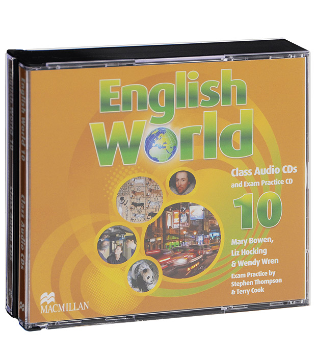 English World 10: Class Audio CDs (аудиокурс на 3 CD) susan stempleski james r morgan nancy douglas world link 3 developing english fluency cd rom