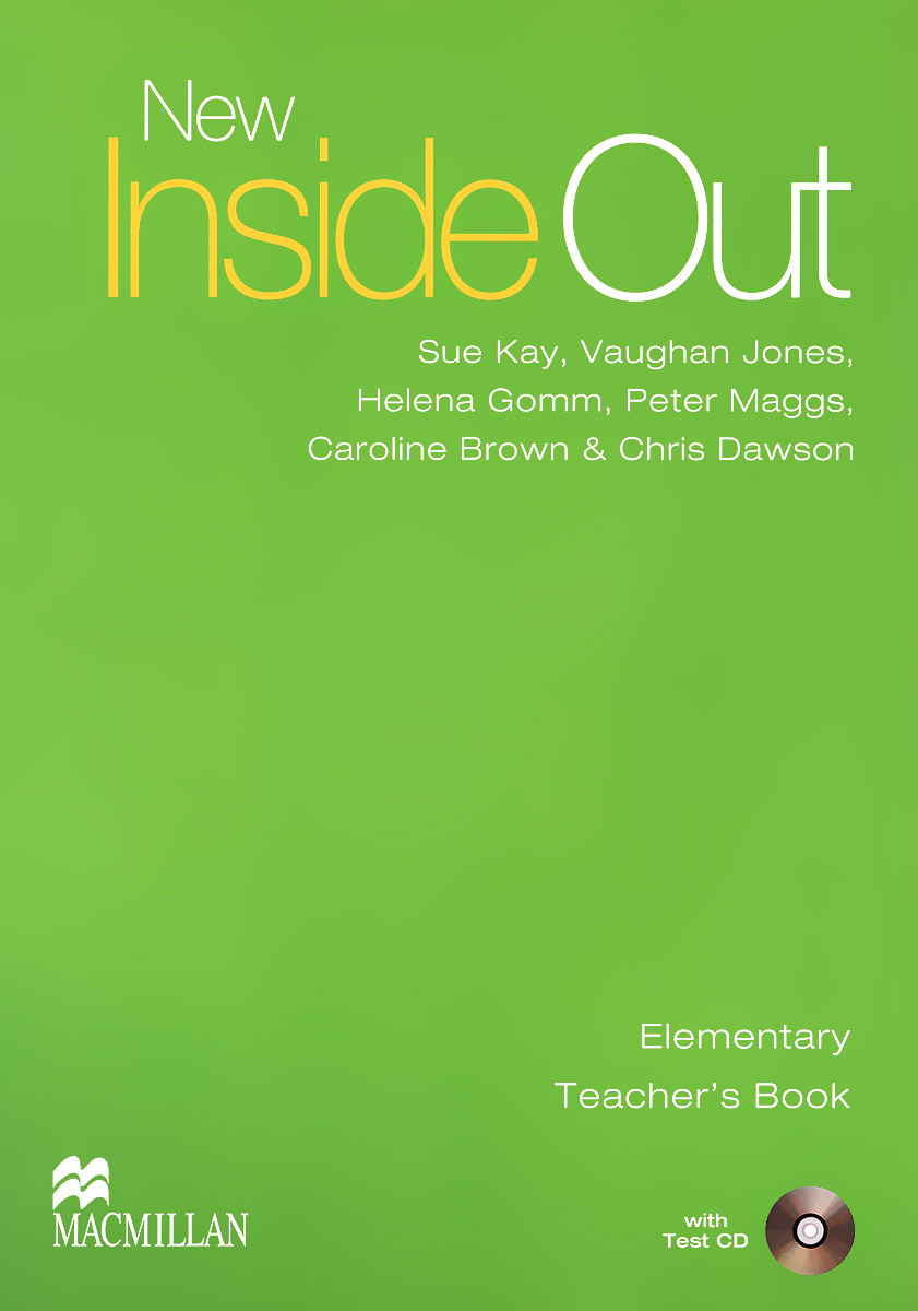 New Inside Out: Elementary: Teacher's Book (+ CD) cd iron maiden a matter of life and death