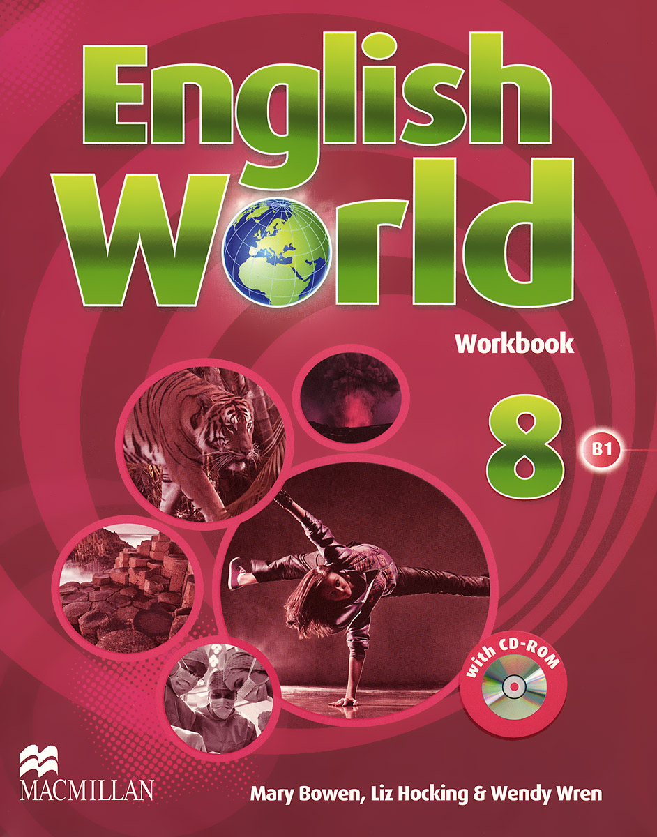 English World: Level 8: Workbook (+ CD-ROM) english world workbook level 9 cd
