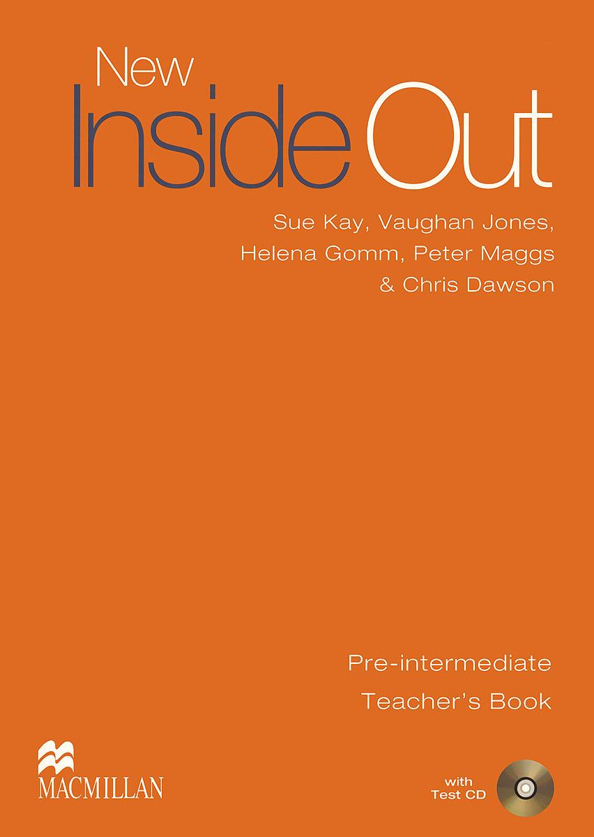 New Inside Out: Pre-Intermediate: Teacher's Book (+ CD) new inside out pre intermediate student s book level a1 b1 cd rom online code