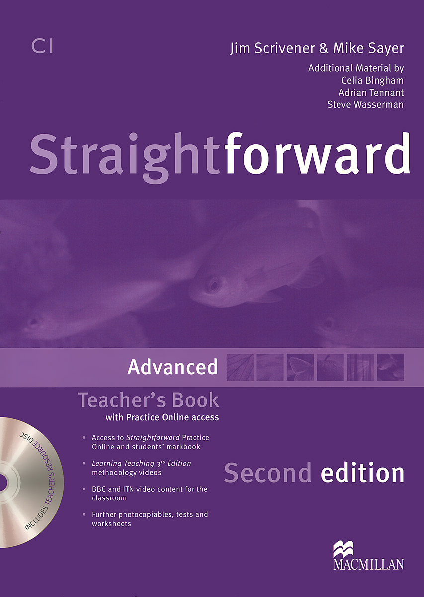 Straightforward: Advanced: Teacher's Book (+ DVD-ROM) new and original zd 70n optex photoelectric switch photoelectric sensor npn output