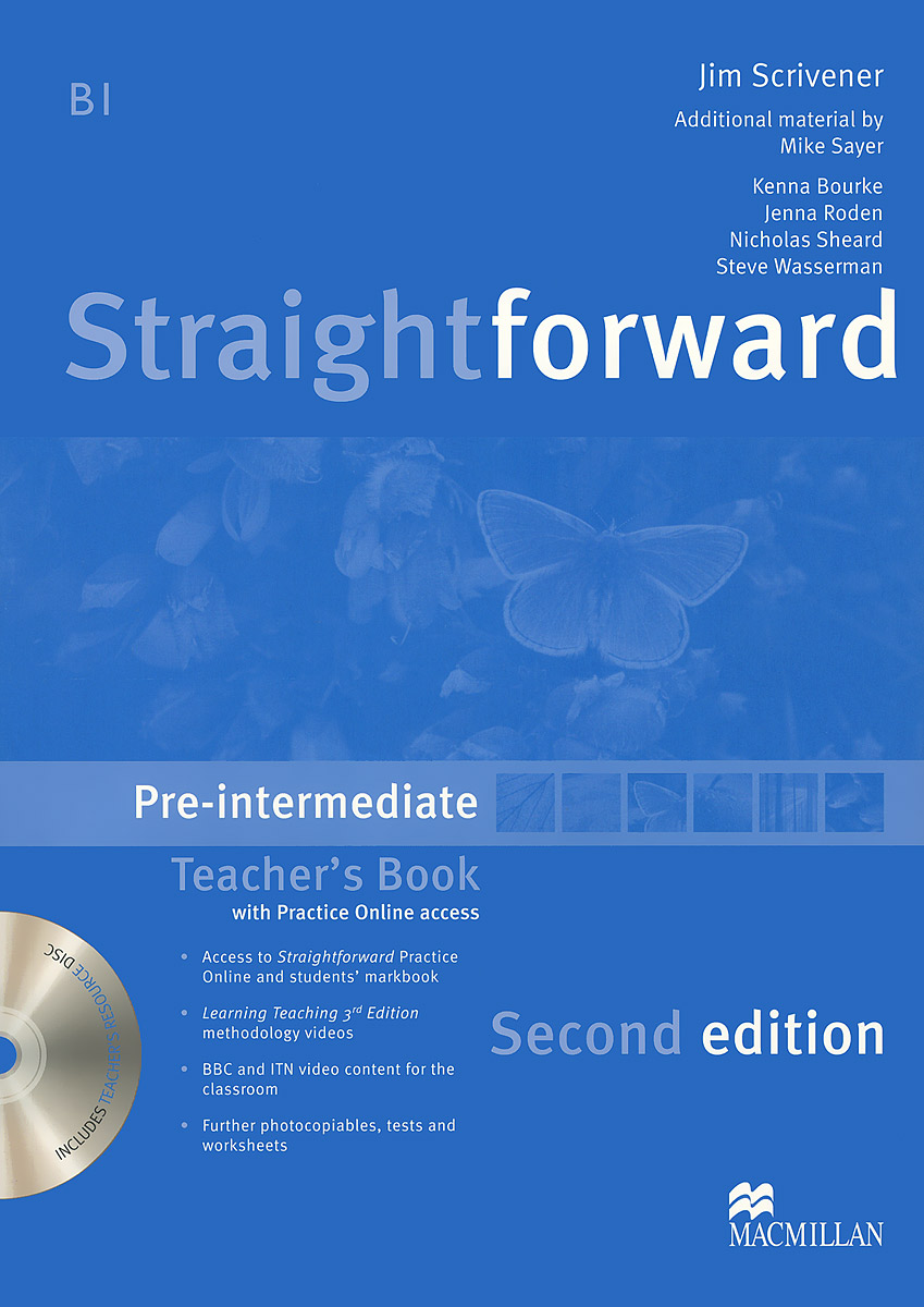 Straightforward: Pre-Intermediate: Teacher's Book (+ DVD-ROM)