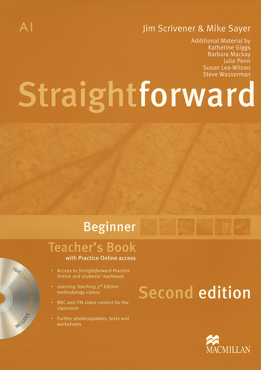 Straightforward: Beginner: Teacher's Book (+ DVD-ROM) close up b1 student s book dvd rom
