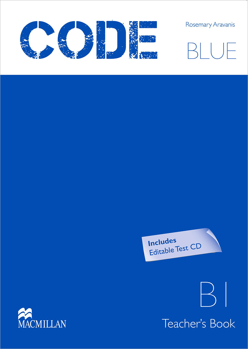 Code Blue B1: Teacher's Book (+ CD-ROM) bin zou computer assisted language learning for listening and speaking skills