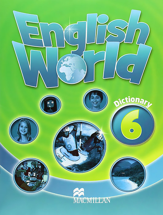 English World 6: Dictionary structure of group writing activities in english textbooks