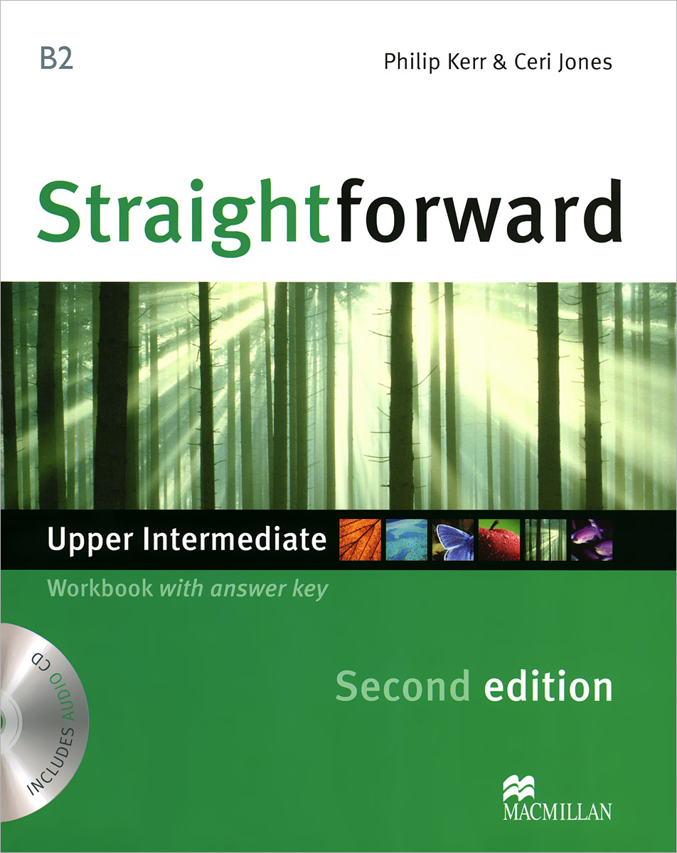 Straightforward: Upper-Intermediate (B2): Workbook With Answer Key (+ CD) laser a2 workbook with key cd rom