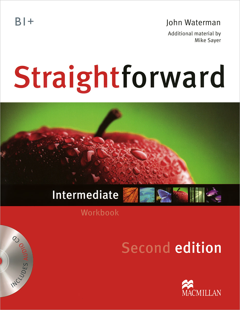 Straightforward B1+: Intermediate: Workbook (+ CD) new total english intermediate workbook with key cd