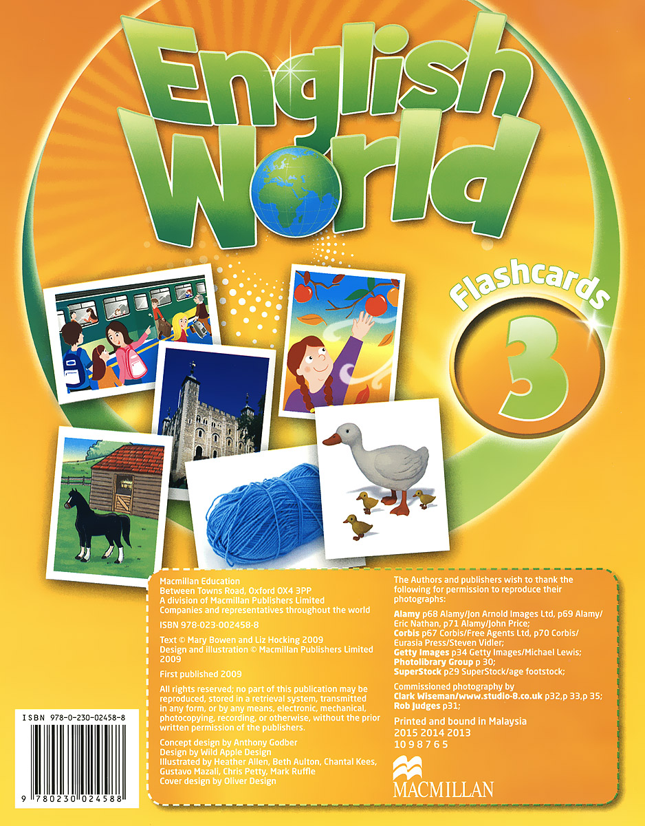 English World 3: Flashcards (набор из 76 карточек) english world 2 flashcards набор из 140 карточек