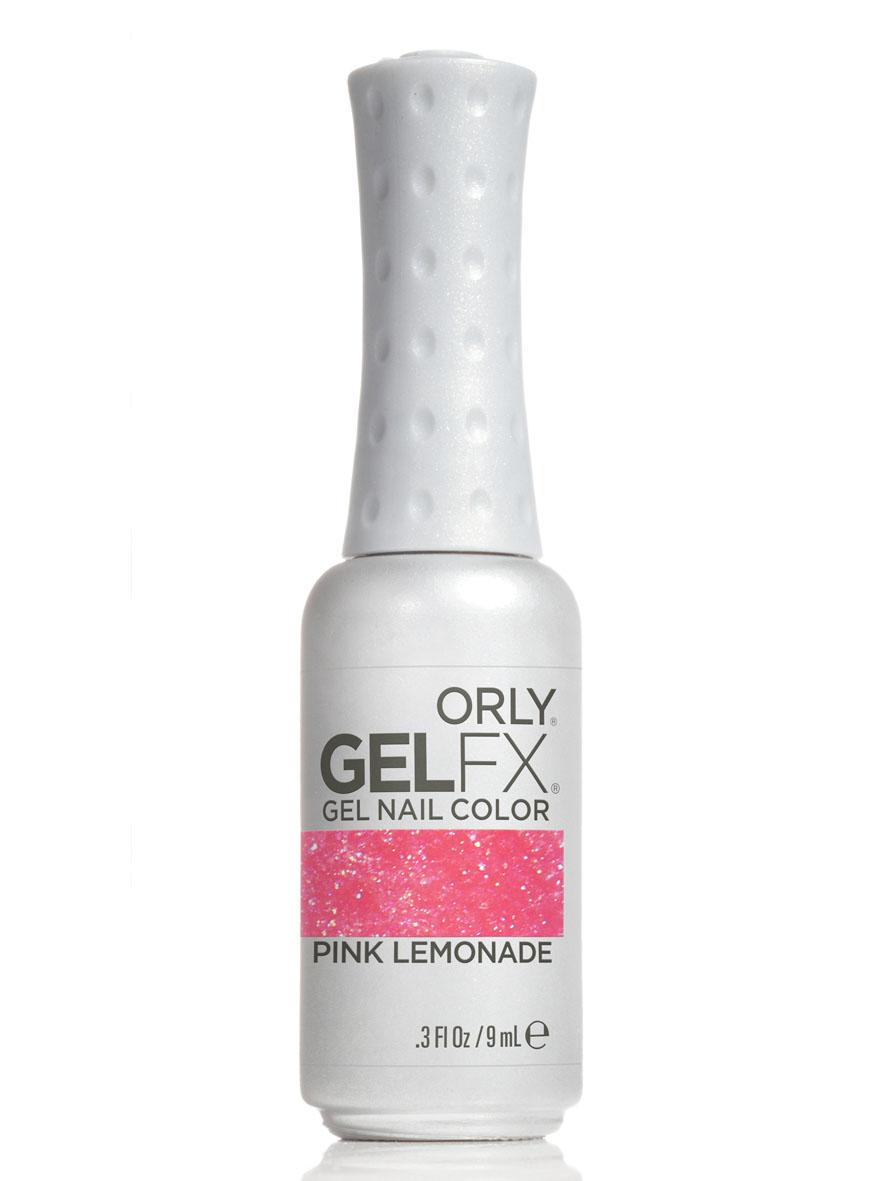 Orly Гель-лак для ногтей Gel FX, тон № 167 Pink Lemonade, 9 мл30167Гель-маникюр Gel FX - это инновационная улучшенная формула лака, обладающая достоинствами геля, в которой сочетаются простота нанесения и снятия, невероятная стойкость в течение 2-х недель и ослепительный блеск.Этот уникальный продукт не имеет аналогов у других производителей, так как только его неповторимая формула, богатая витаминами A и E и провитамином В5, дарит потрясающий уход, исключает возникновение проблем с ногтями, обладает свойством самовыравнивания ногтевой пластины, способствует укреплению и защите структуры натурального ногтя.Гель-маникюр Gel FX отмечен значком 3 free: он не содержит в своем составе вредных для здоровья составляющих, таких как толуол, дибутилфталат и формальдегид. Теперь цветное покрытие ногтей ухаживает за ногтями! Каждое из 32 цветных покрытий представлено в элегантном стильном флаконе, оттенок которого соответствует цвету лака из палитры ORLY. Товар сертифицирован.