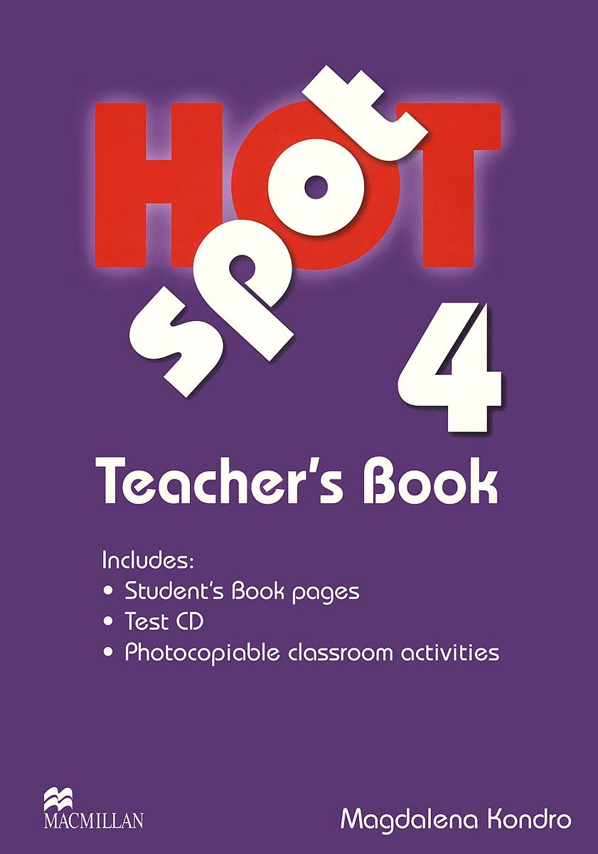 Hot Spot 4: Teacher's Book (+ CD) hot spot 4 teacher s book cd