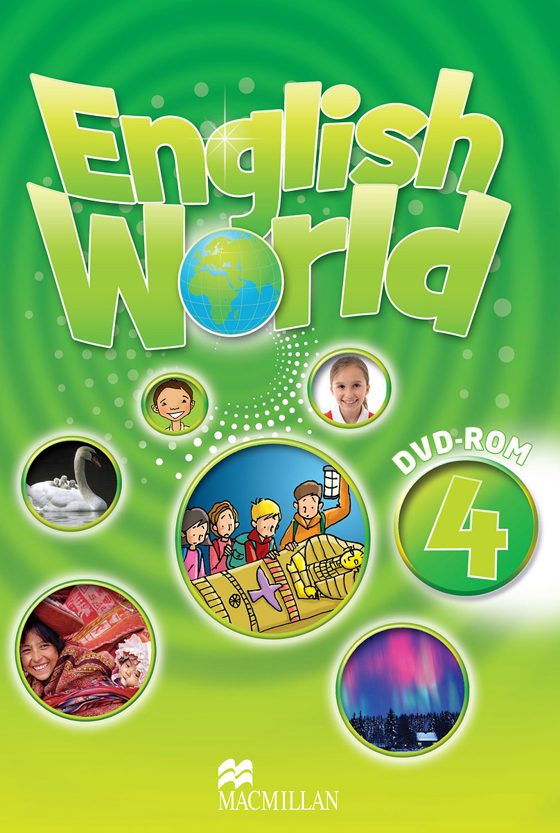 English World 4 DVD татьяна олива моралес the comparative typology of spanish and english texts story and anecdotes for reading translating and retelling in spanish and english adapted by © linguistic rescue method level a1 a2