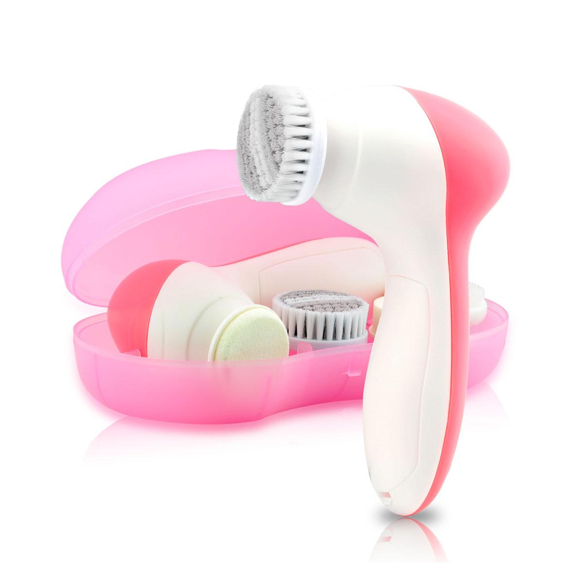 Набор для очищения кожи Touchbeauty AS-0525A, цвет: розовый