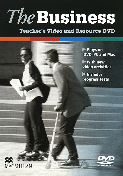 The Business: Teacher's Video and Resource DVD business presentations cd