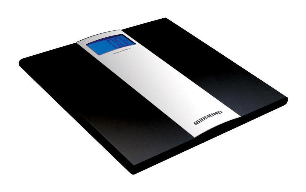Redmond RS-710, Black напольные весы кухонные весы redmond rs 736 полоски