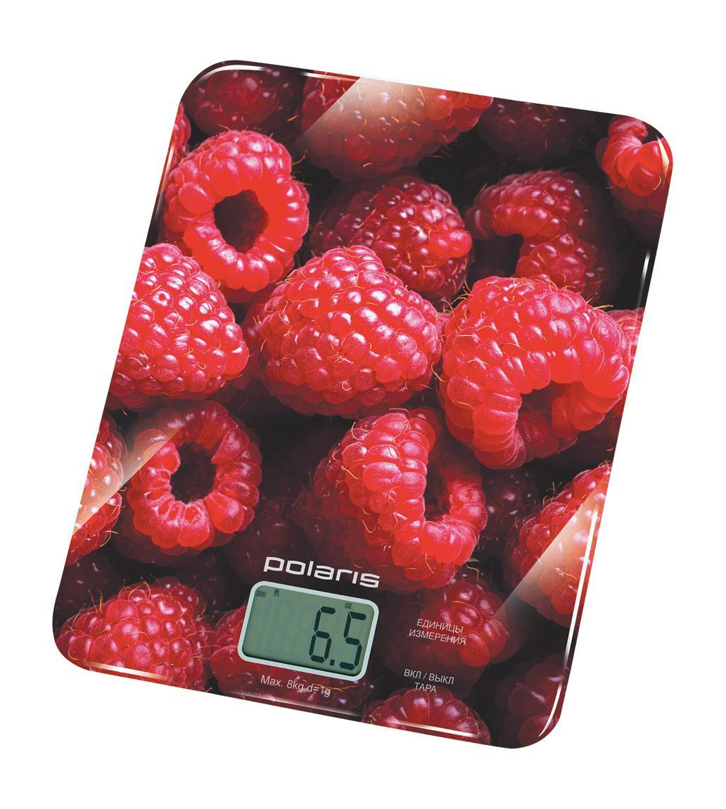 Polaris PKS 0832DG Raspberry кухонные весыPKS 0832DG Raspberry