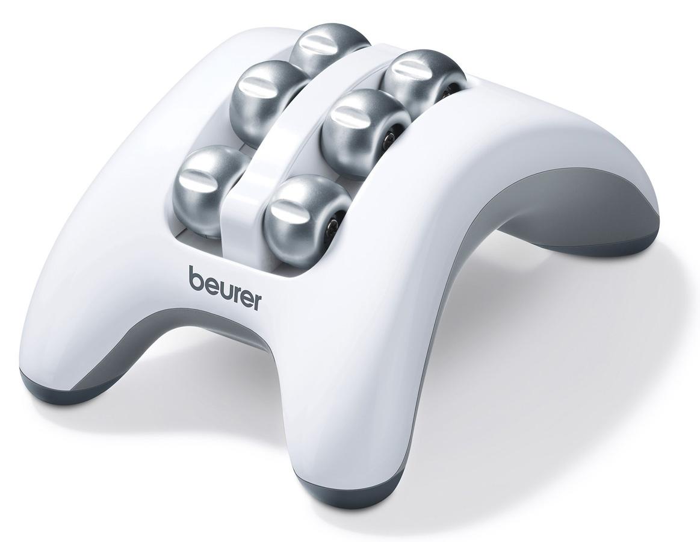 Массажер для ног Beurer FM161092039Массаж ступней помогает расслабиться, почувствовать прилив сил и получить удовольствие. Как известно на ступнях расположено множество нервных окончаний и биологически активных точек, связанных с организмом человека в целом. Вращающиеся от батареек ролики массажера Beurer FM 16 эффективно массируют ваши ноги, помогая снять накопившееся напряжение, раздражение, усталость. Компактные размеры массажера для ног Beurer FM 16 позволяют брать эту полезную вещь в любую дорогу.Отличительные особенности:Массажный ролик для расслабления стопы;Мягкий вибромассаж;Оптимален для использования дома, в офисе и в дороге;Маленький и удобный;Противоскользящие резиновые ножки.