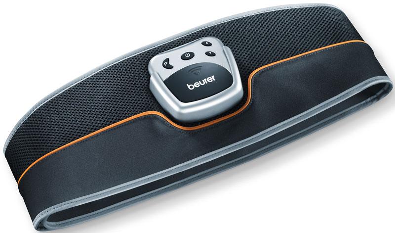 Миостимулятор для пресса Beurer EM351092054Тренажер для мышц живота. Миостимулятор генерирует мягкие электрические импульсы, которые передает через кожу мышцам. Электрическая стимуляция мышц уже давно используется в фитнесе для тренировки мышц и достижения стройного и красивого тела.Стимулятор мышц Beurer EM35 позволит без особых усилий придать своей фигуре стройности и подтянутости, и подкачать пресс.Электромиостимулятор, который работает по принципу электрической стимуляции мышц, мягко генерирует электрические импульсы, которые передаются мышцам через кожу. Мышцы, воспринимающие электрические импульсы, как естественную активацию нервными импульсами, сокращаются и расслабляются, так же, как и при активной тренировке.Стимулятор Beurer EM35 оснащен четырьмя электродами, для которых не требуется контактный гель или запасные электроды.Области применения:Разогрев мускулатурыУлучшение рельефа мускулатурыУкрепление мышц и кожиРасслабление мышцЧетыре электродаТаймерРегулировка интенсивностиИндикатор состояния батареекАвтоматическое выключение через 5 минут при неиспользованииГибкий пояс с лентой-липучкой, пригодный для различных объемов талии (75-140 см)Не требуется контактный гельПять программ тренировок, длительностью 22-31 мин.