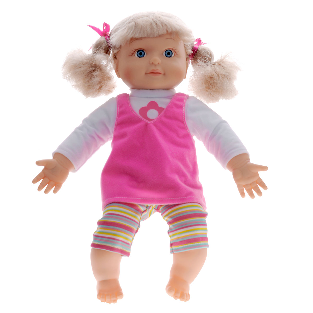 Mary Poppins Интерактивная кукла Алена  учу части тела, 38 см