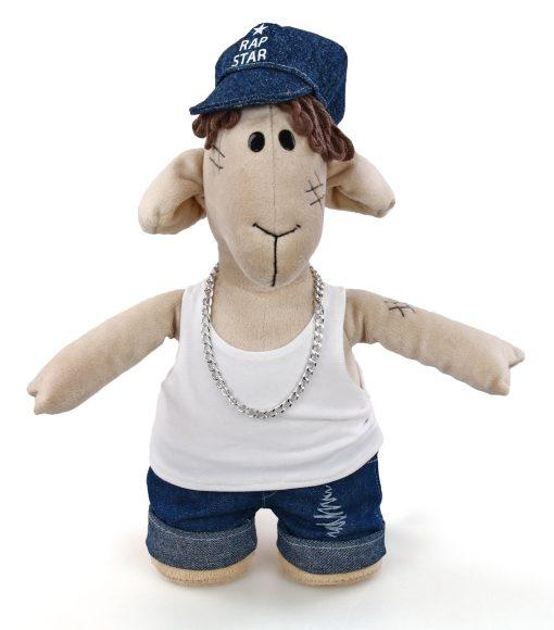 Мягкая игрушка Fluffy Family Овечки челОвечки: Диджей, 32 см игрушка мгка fluffy family диджей 681031