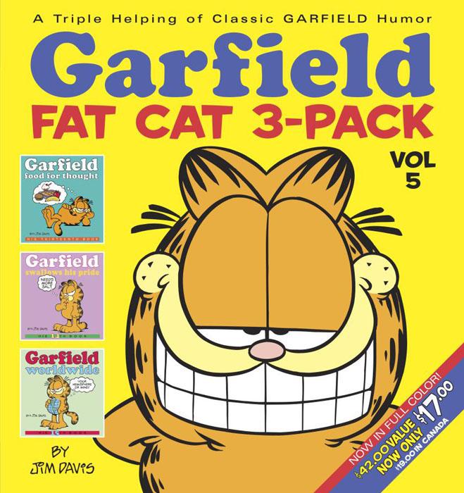 Garfield Fat Cat 3-Pack: Volume 5 garfield takes his licks