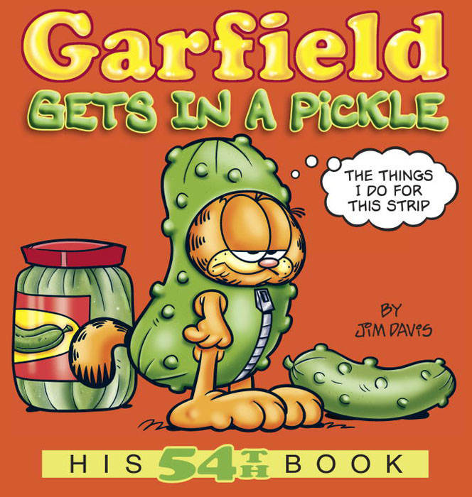 Garfield gets in a pickle alfie gets in first