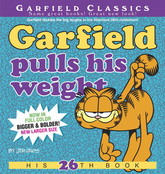 Garfield pulls his weight garfield takes his licks