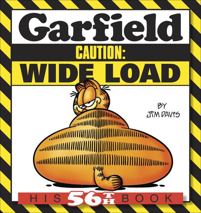 Garfield caution: wide load lust caution 3001
