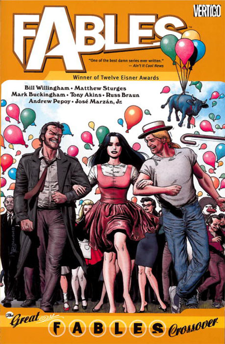 Fables vol 13: crossover fables volume 11 war and pieces