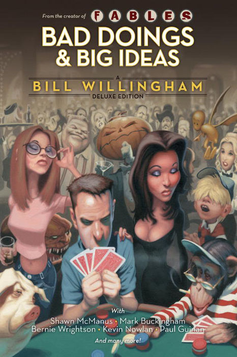 Bad and big bill willingham the big bad wolf