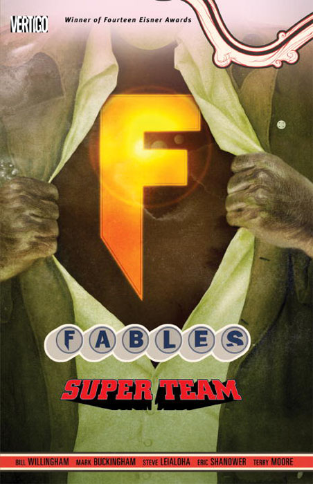 Fables vol 16 super team fables volume 11 war and pieces